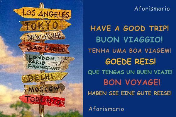 Top Aforismario®: Frasi per augurare Buon Viaggio! e Buone Vacanze! HB02