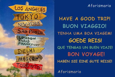 Aforismario Frasi Per Augurare Buon Viaggio E Buone Vacanze