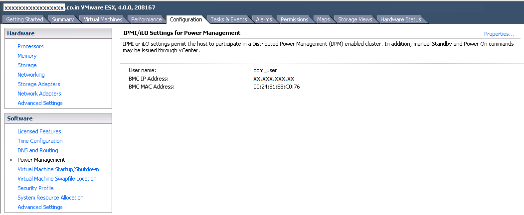 vmwarealert com: How to configure Distributed Power Management on