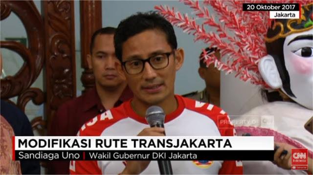 Seminggu Anies-Sandi, Sejumlah Penumpang Berterima Kasih dengan Modifikasi Rute Transjakarta