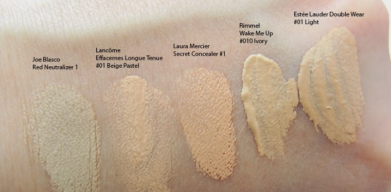 Iluilm Concealers Swatches And Comments