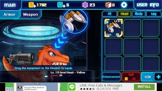 review dinobot tyrannosaurus game android ringan