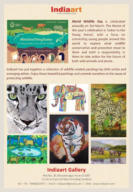 Indiaart celebrates World Wildlife Day (www.indiaart.com)