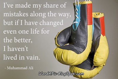 Muhammad Ali photo quote