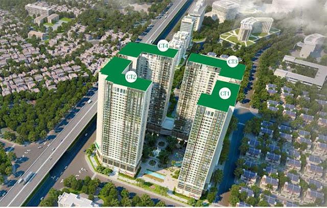 Tổng thể chung cư Eco Green City