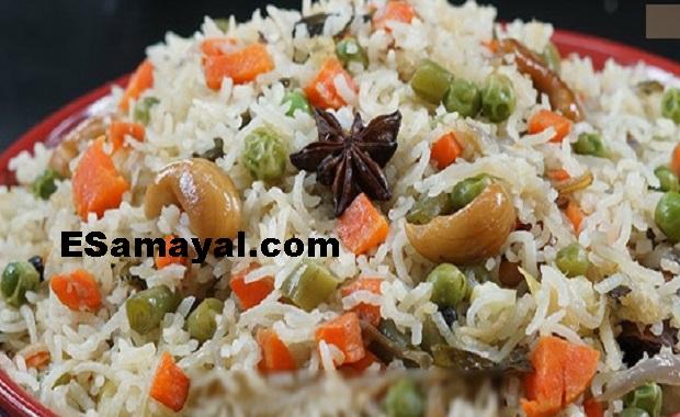 முந்திரி புலாவ் செய்முறை / Cashew Pulau Recipe !