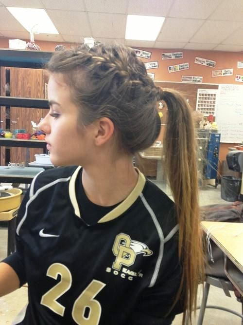 Cute Athletic Hairstyles ~ trends hairstyle