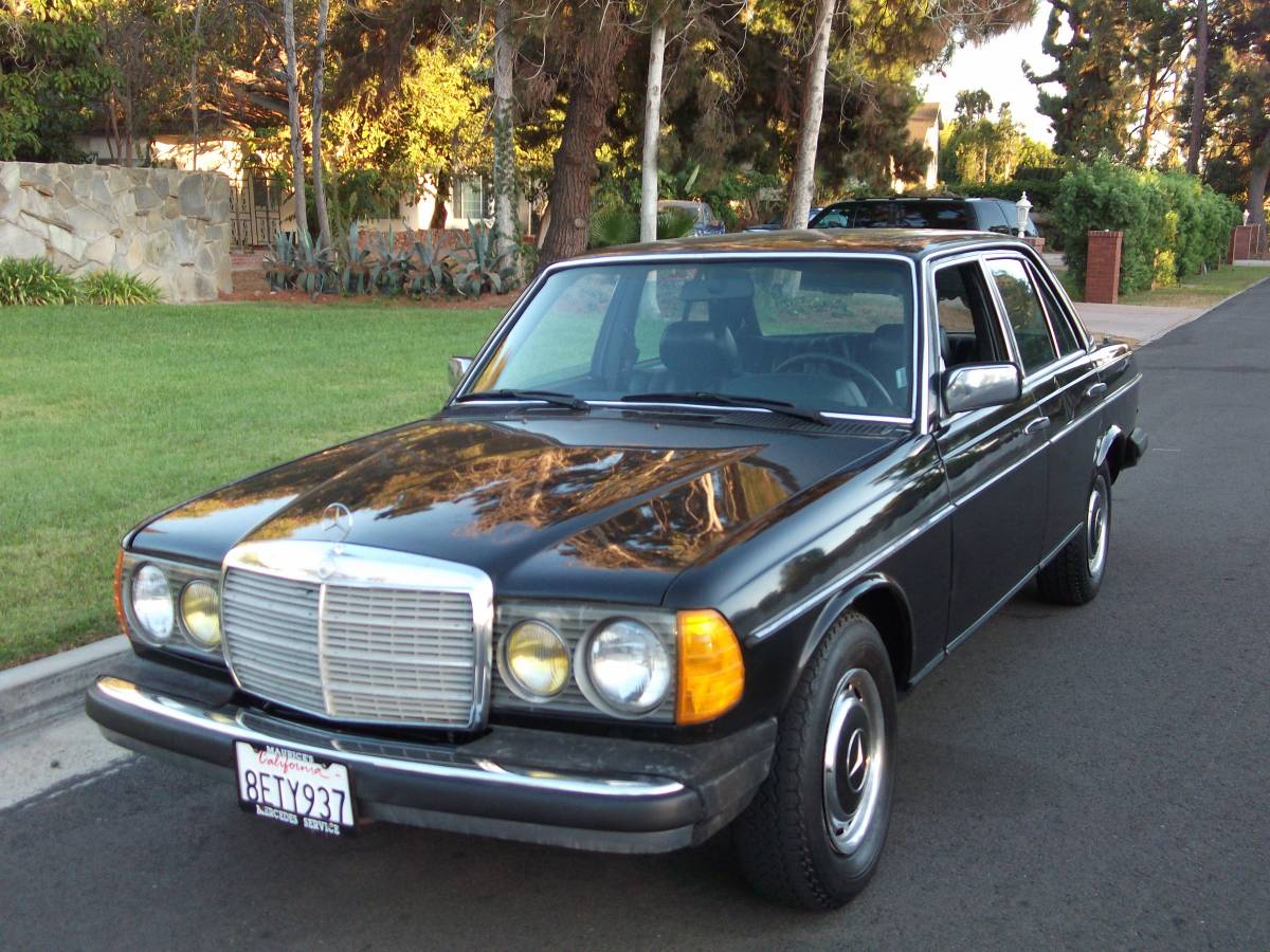 Daily Turismo Oil Stain Slow 1981 Mercedes Benz 240d
