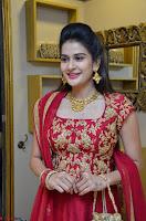 Jenny Honey in Stunning Dark Red Anarkali Dress at Splurge   Divalicious curtain raiser ~ Exclusive Celebrities Galleries 055.JPG