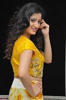 Richa Panai in Yellow Slim Fit Crop top ~ CelebxNext 005.JPG