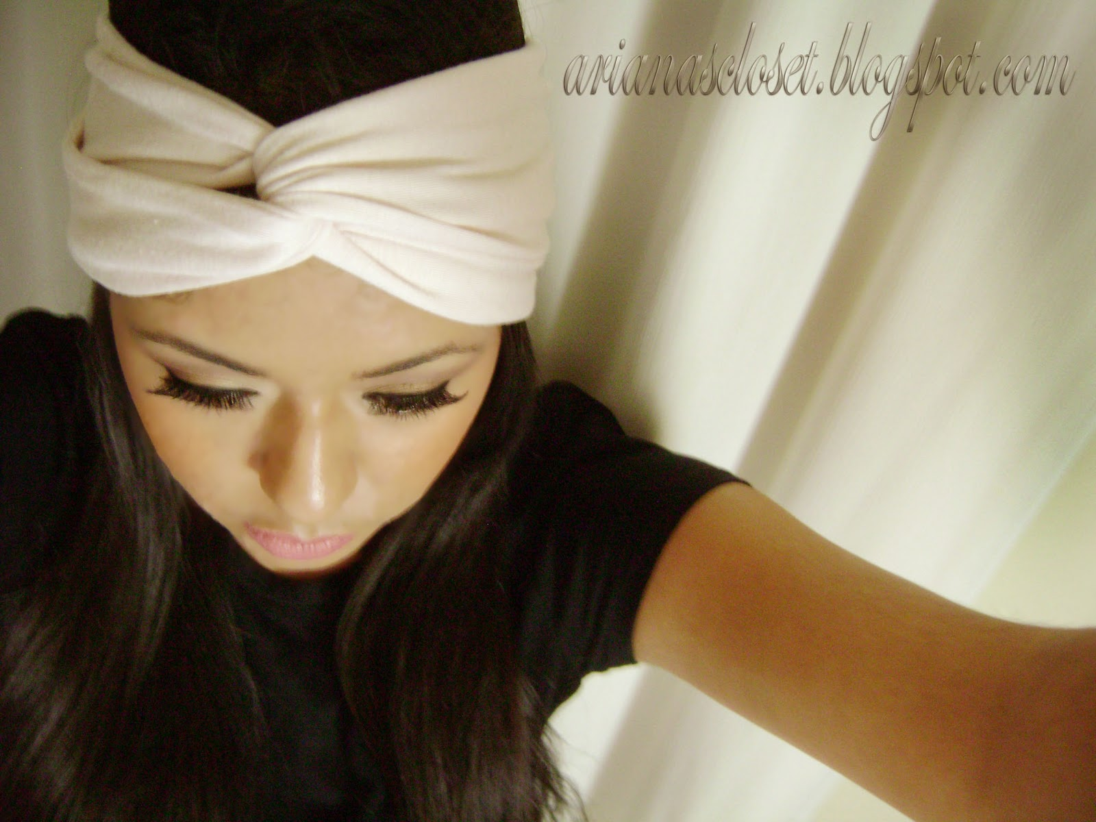 Turban headband video tutorial crafthubs arianas closet diyturban headband baditri Images