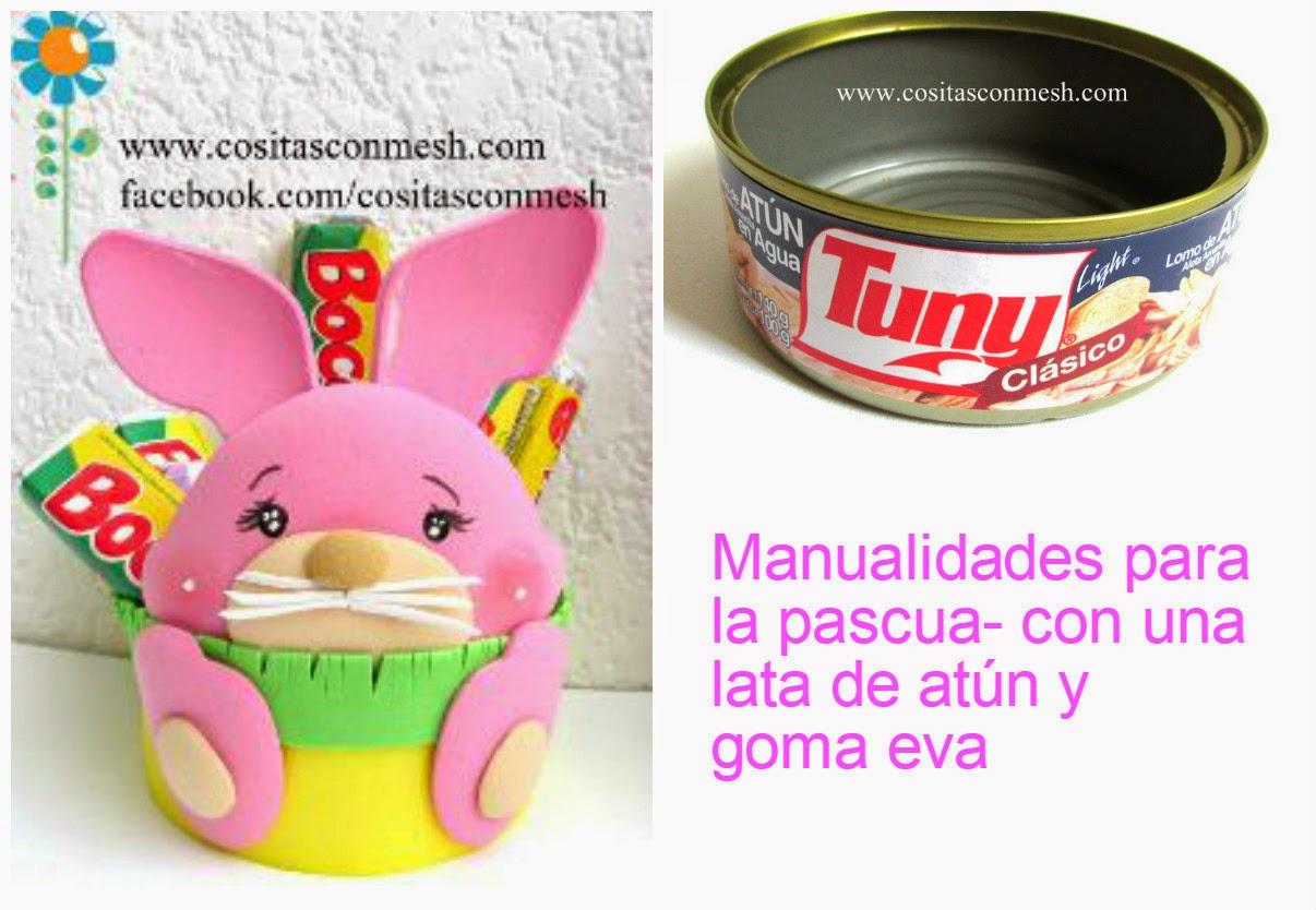 Manualidades para pascua paso a paso conejo cositasconmesh for Manualidades pascua
