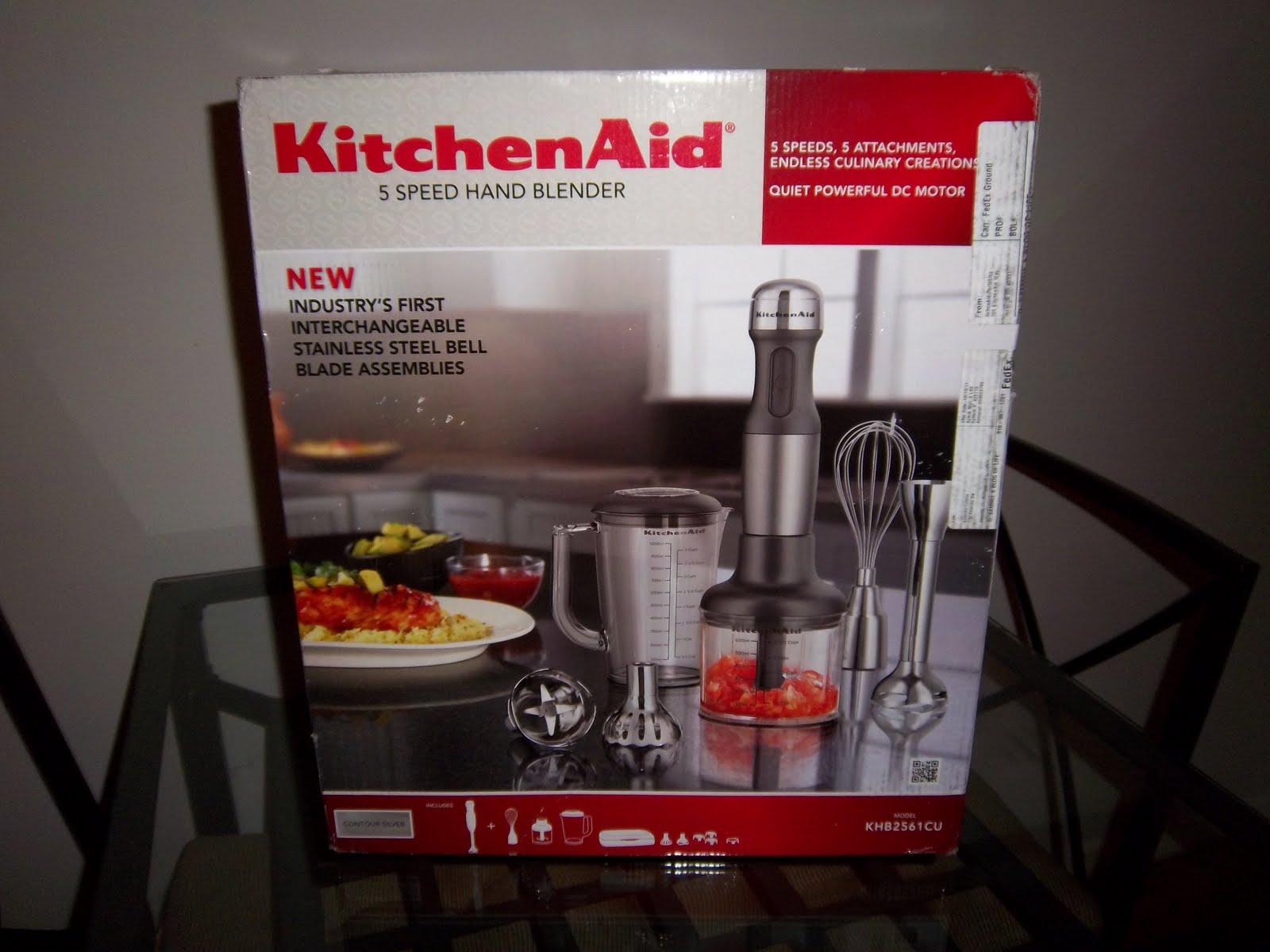 Kitchen Aid Immersion Blender On Box