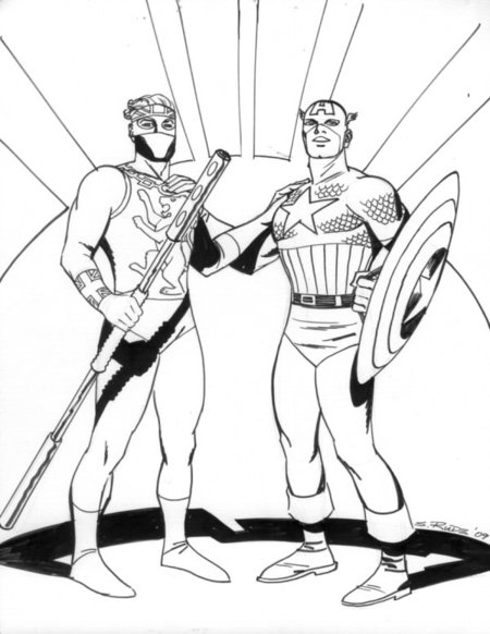 disney captain america coloring pages - photo#22
