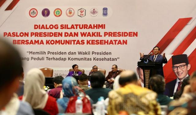 Menang Pilpres, Prabowo Janji Benahi Carut Marut BPJS Kesehatan