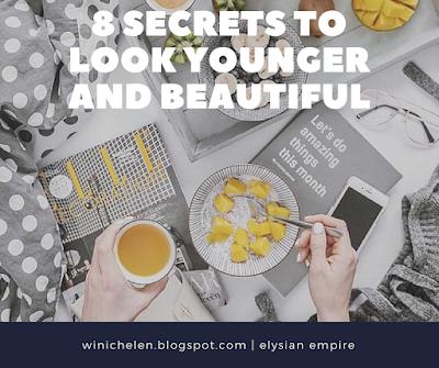 8 cara untuk kelihatan cantik dan awet muda   winichelen