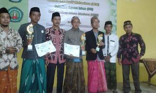 Panyeppen Juara I, Bata-Bata juara II dan III Lomba Baca Kitab Kuning se-Madura