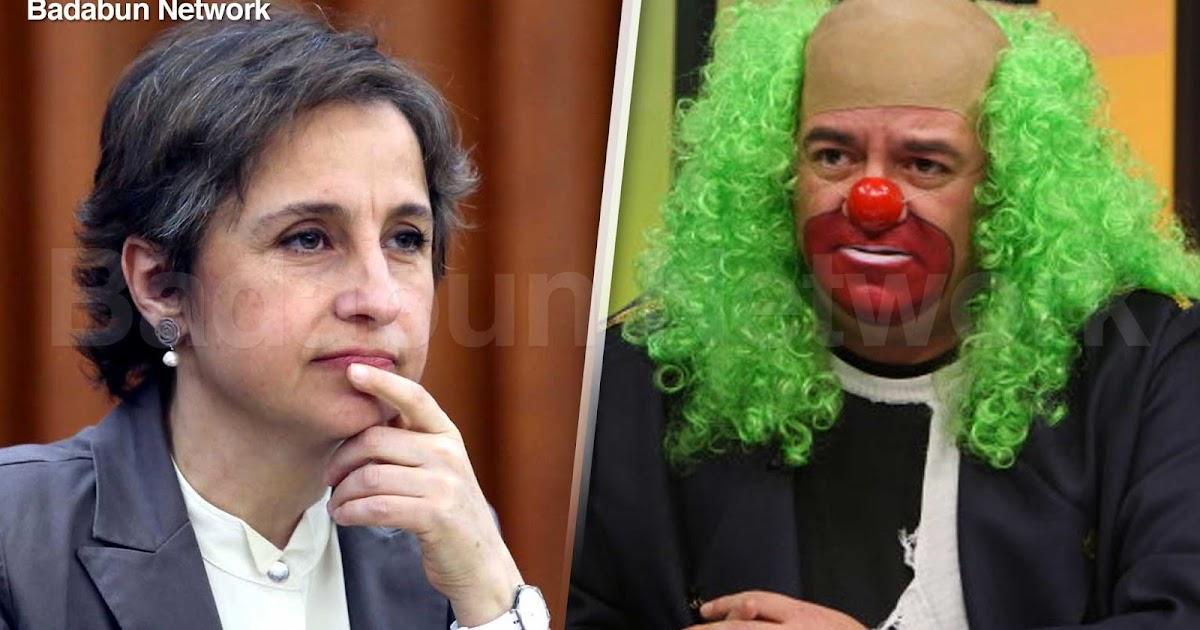 Carmen Aristegui Aristegui Noticias CNN MVS Ayotzinapa PRI Jorge Ramos Ruben Luengas Donald Trump Brozo televisa Pulso Chumel Torres