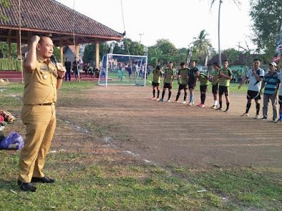 Wakil Bupati Pringsewu Buka Open Tournament Futsal 1 Abad Pekon Tulungagung