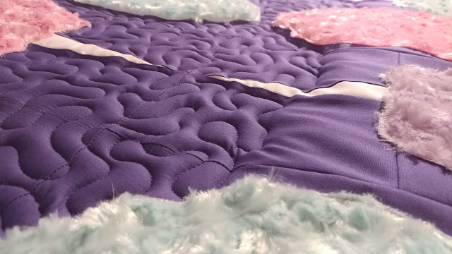 Cotton Candy quilt by Slice of Pi Quilts