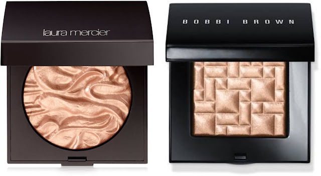 Laura Mercier Powder Seduction, Bobbi Brown Bronze Glow