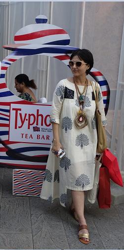 Swatika Banerjee at Typhoo Tea bar
