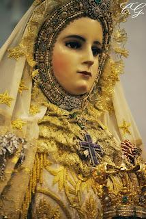 Resultado de imagen de traslado de la Virgen del Rosario Coronada, cadiz