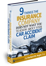 9 Things the Insurance Company Don't Want You to Know about Car Accident Claim - BOOK