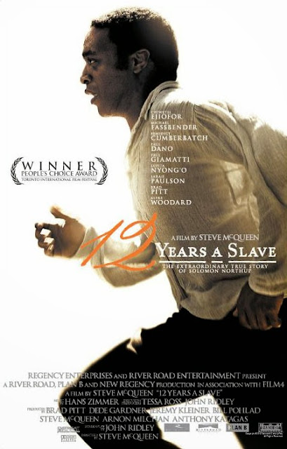 12 Years a Slave, Poster, starring Chiwetel Ejiofor as Solomon Northup