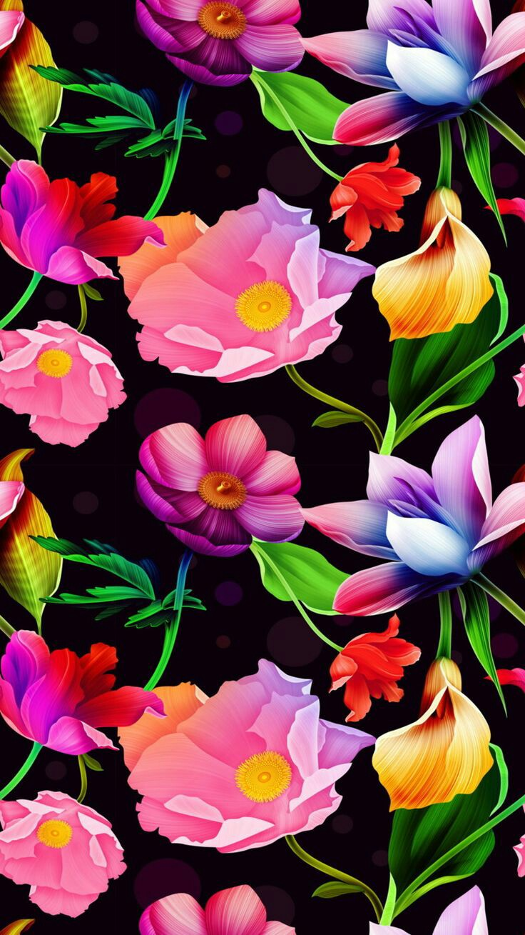 Art Flowers Iphone 11 Backgrounds And Wallpapers