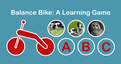 Balance Bike: A Learning Game