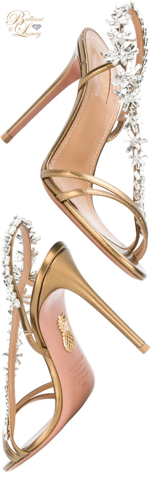 Brilliant Luxury ♦ Aquazzura Chateau sandals