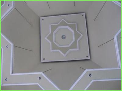 masjid palu ornamen lampu