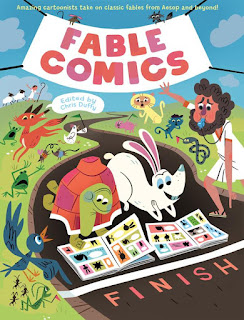Fable Comics edited by Chris Duffy book cover