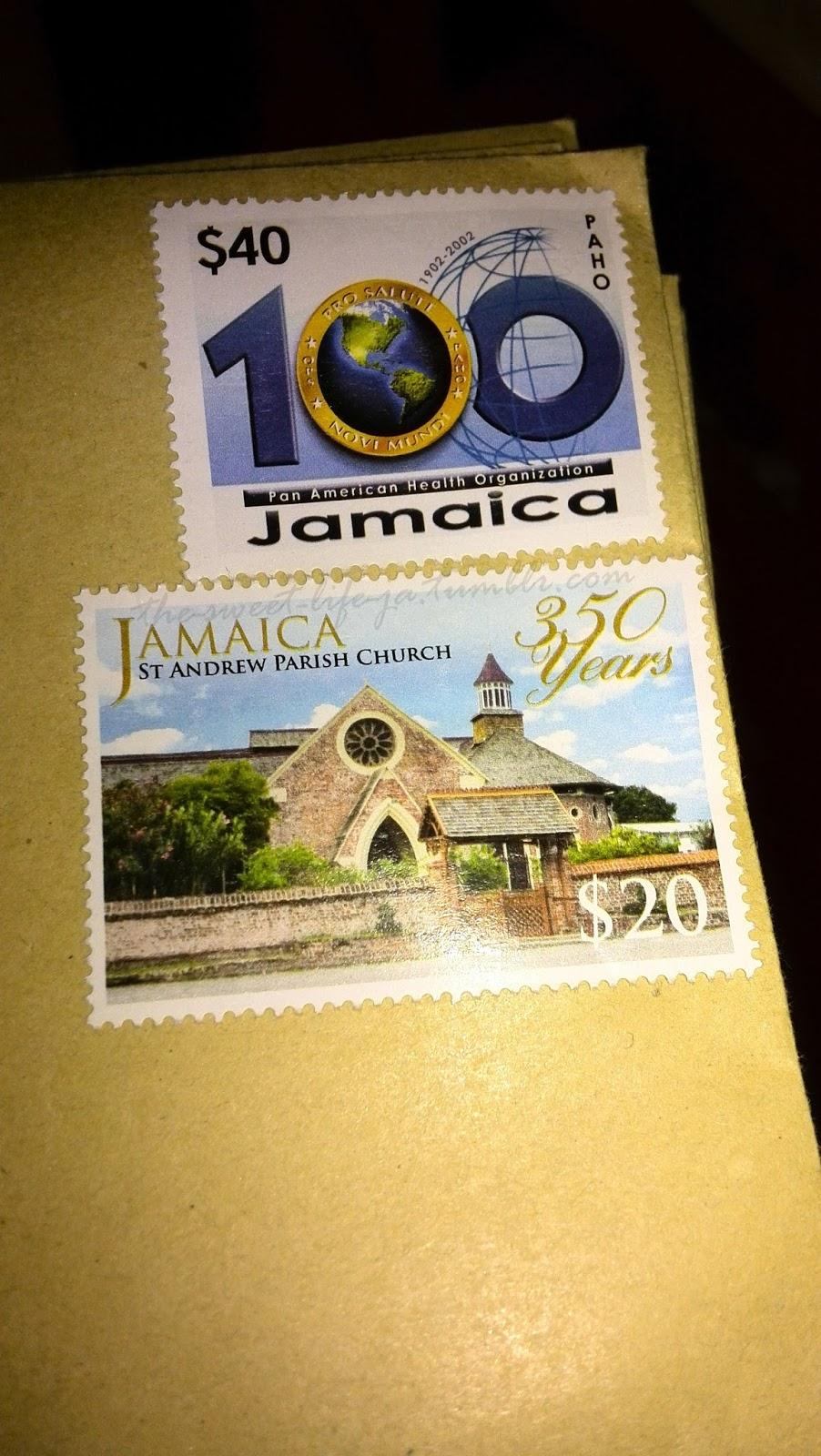 f66f17a627ea Jamaica s pretty stamps (2016)
