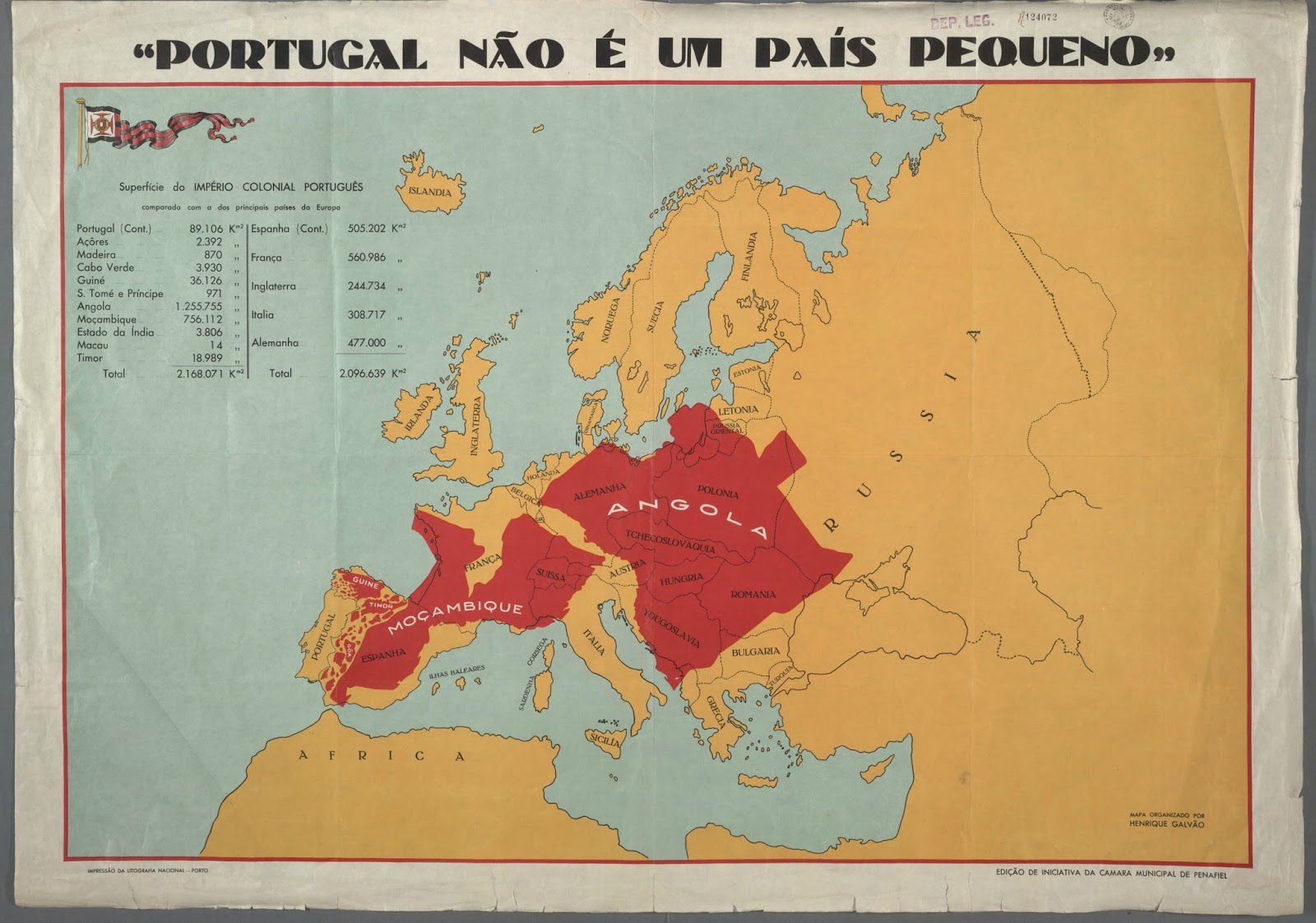 Portugal is not a small country (1934)