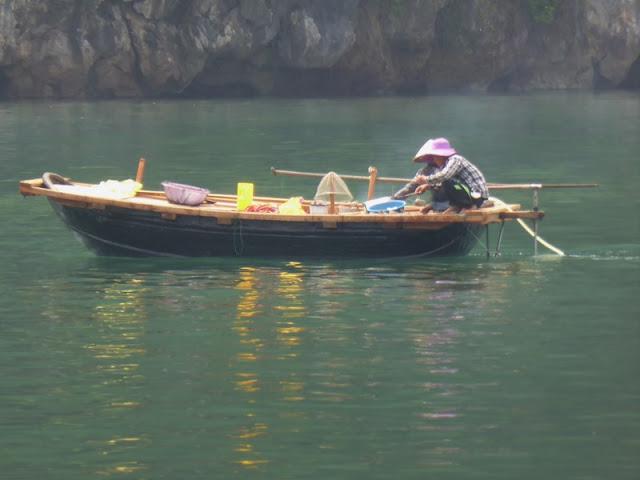 Bahía de Lan Ha, pescadores