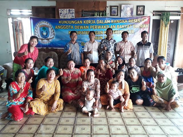 Reses Anggota DPRD OKI Banjir Aspirasi Masyarakat