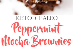 Keto/Paleo Peppermint Brownies