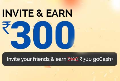 GoIbibo 150rs On Signup 300rs Per Rreferral Code HRYBZNPY