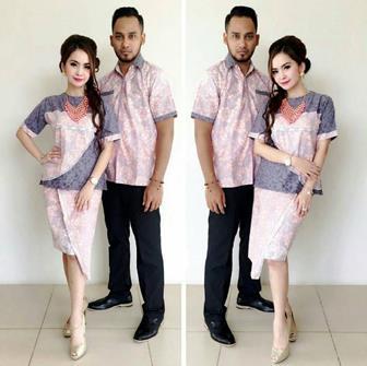 Baju Batik Couple Anak Muda Yang Paling Modis