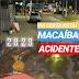Acidente com ferido Macaíba nesta noite