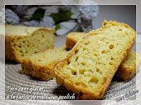 Pain sans gluten à la farine de maïs,méthode sur poolish