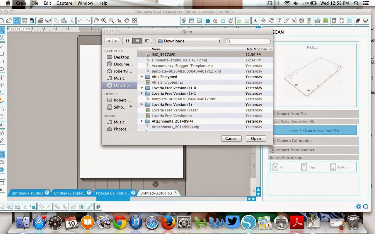 Silhouette Pixscan, beginner, tutorial, Silhouette Studio