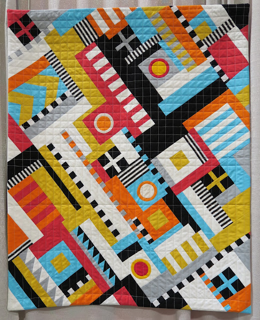 Quiltcon 2019 - TMQG President's challenge 2018 by Patti Coppock
