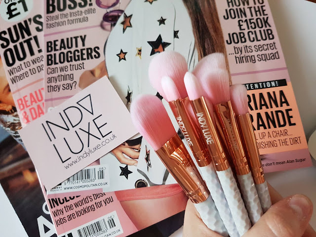 Indy Luxe brushes