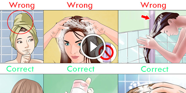 Few Signs That You Are Washing Your Hair All Wrong!