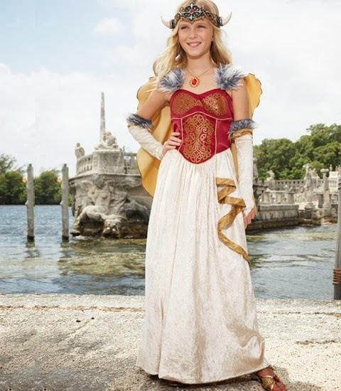 disfraz niña princesa vikinga