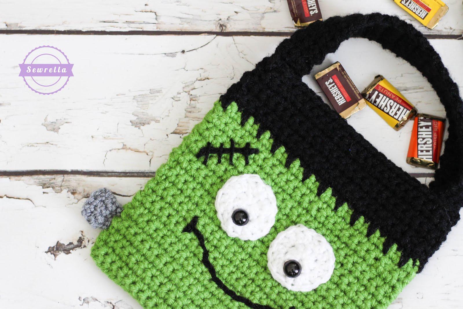 Strawsherries Favourites Free Crocheted Halloween Bag Patterns