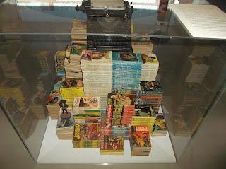 máquina de escribir, libros